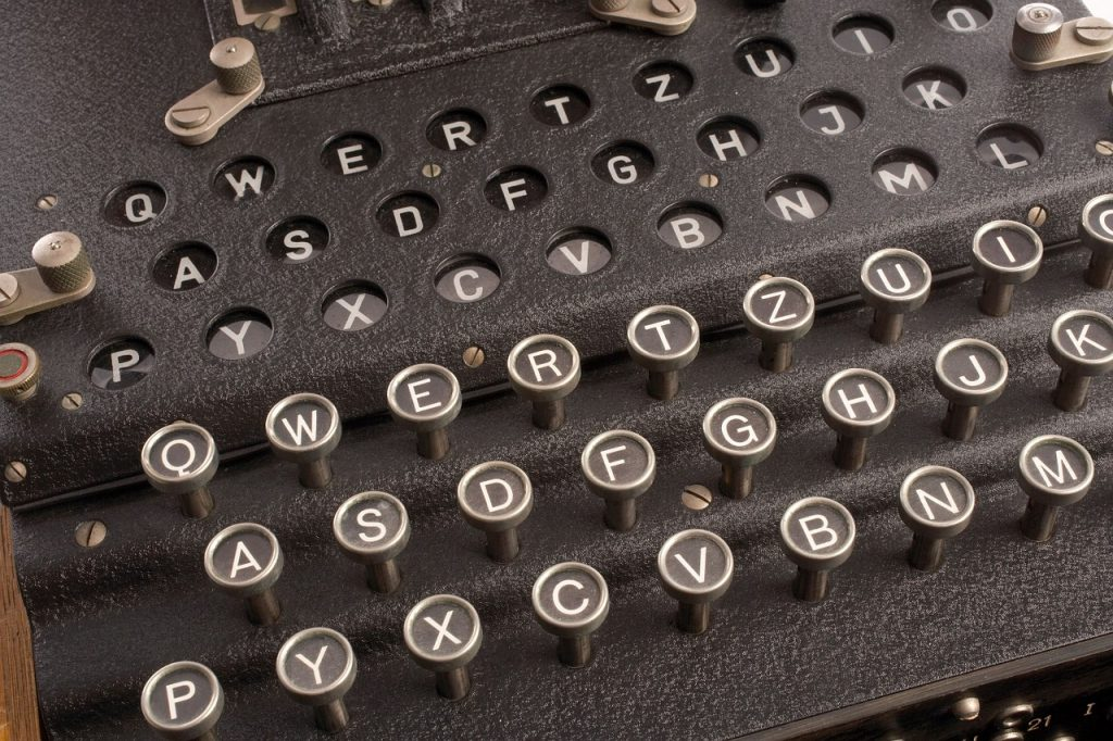 rotor cipher machine, enigma, electro-mechanical